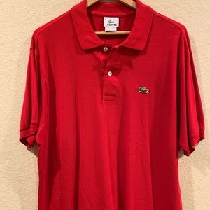 Lacoste Red Shirt